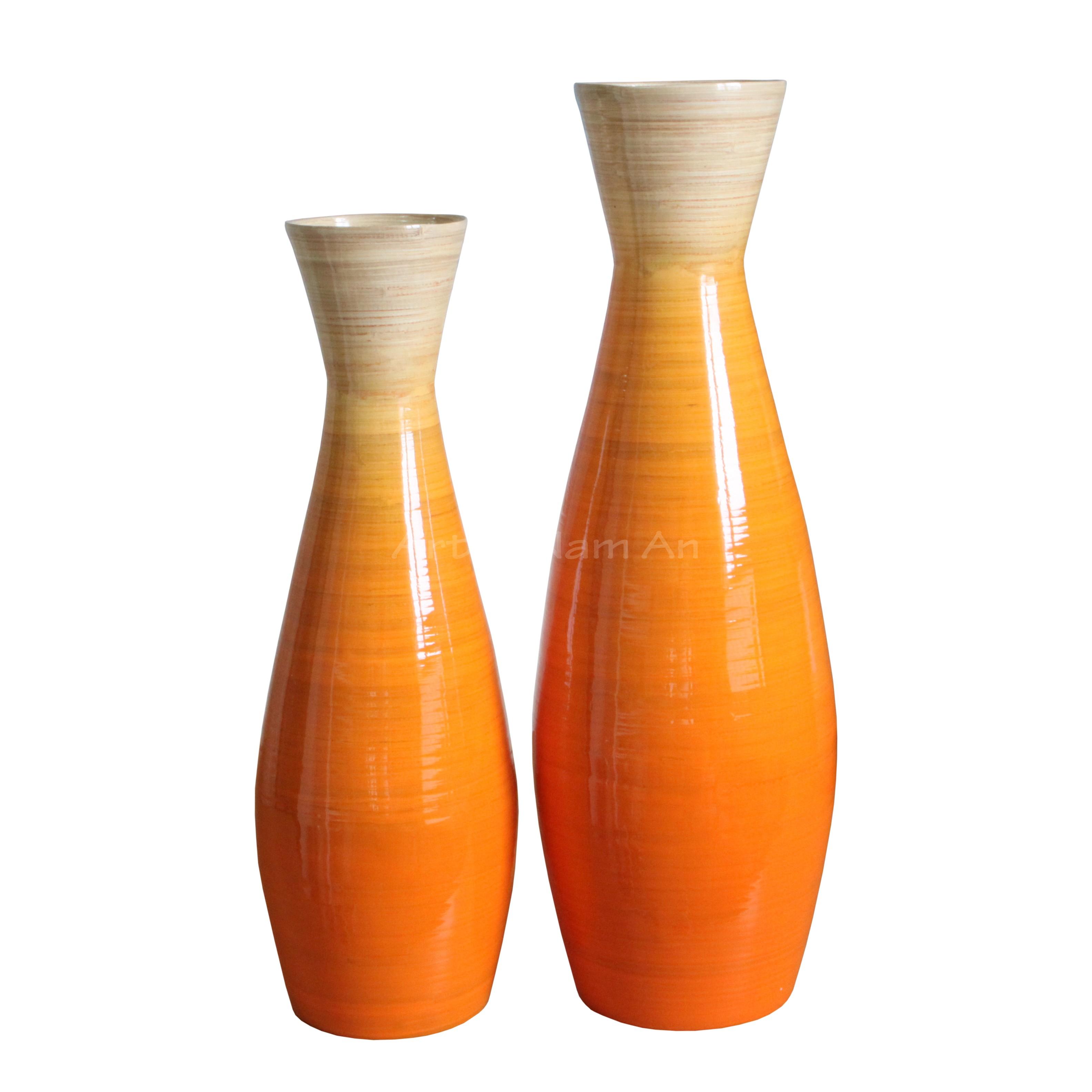Home garden home accessories dcor vases round spun home garden home accessories dcor vases round spun bamboo descor vase reviewsmspy